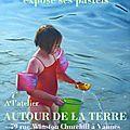 Exposition de pastel à l'atelier <b>Autour</b> de la Terre à Vannes 16/01 - 16/02 2015