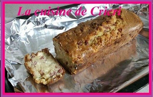 """Cake lardon et """"Vache qui Rit"""""""