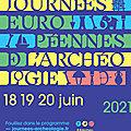 Les Journées Européennes de l'Archéologie, prochainement