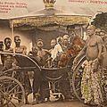 Le raid Hippique Biarritz/Paris- Révolte au <b>Dahomey</b> -