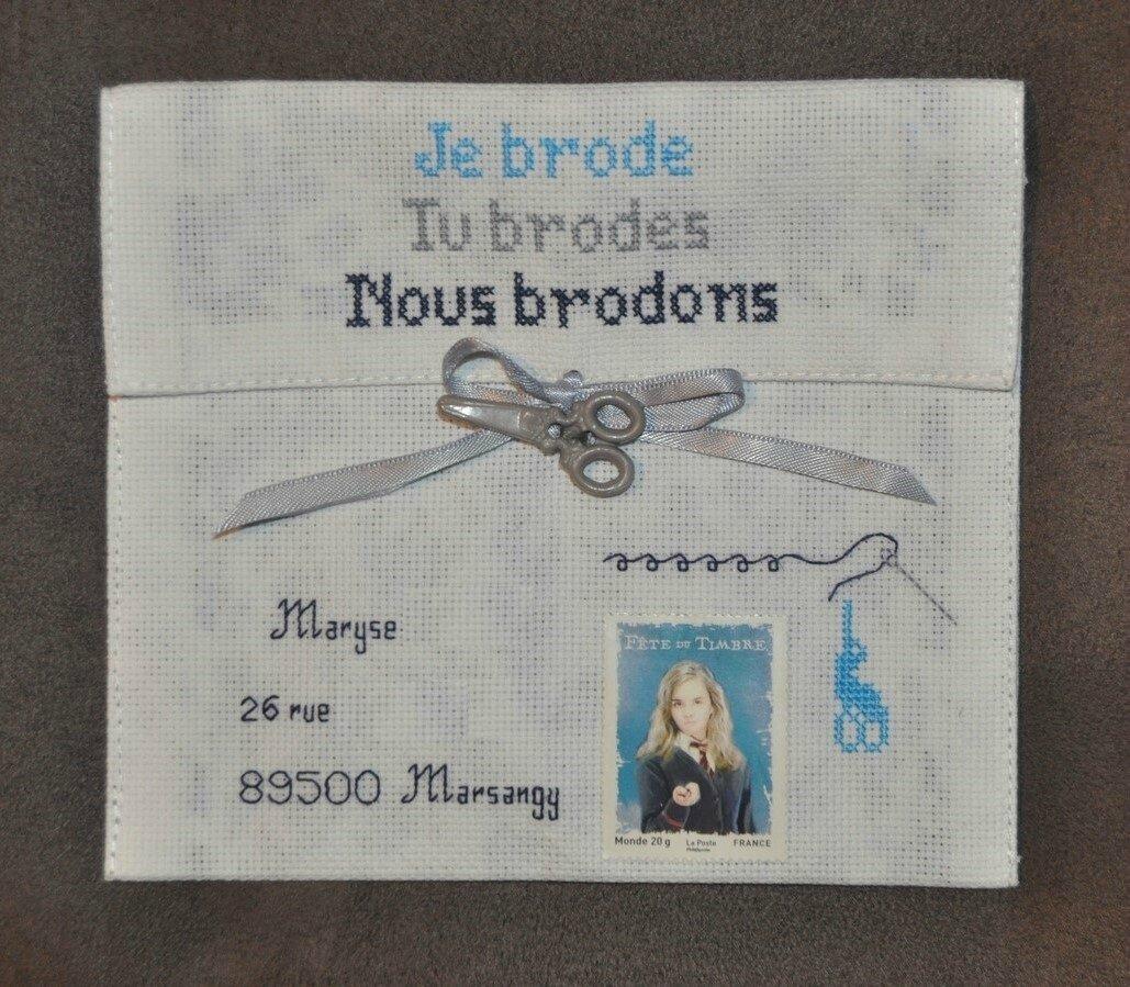 Art Postal échange avec Maryse Octobre (4) (Copier)