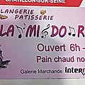 LA MI DO RÉ Châtillon-sur-Seine Côte d'Or <b>boulangerie</b> pâtisserie