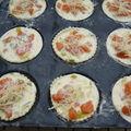 Tartelettes aux poireaux et au saumon