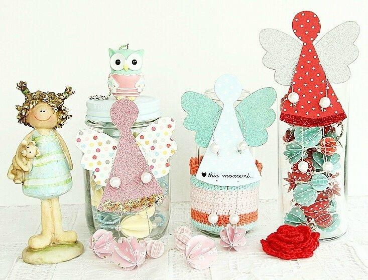 vanillejolie anges papier decoration
