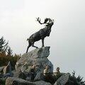 Beaumont-Hamel, mémorial canadien, statue (80)