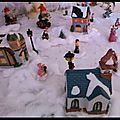 Il a neigé ... sur mon village de noël