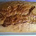 Cake aux noix et au sirop d'érable