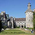 Chateau d'usson - pons - charente-maritime - france