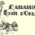 L'assassinat de louis d'orléans