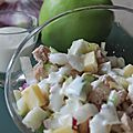 Salade d'endive au thon et pomme verte