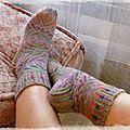 Les chaussettes en folie - troisième round