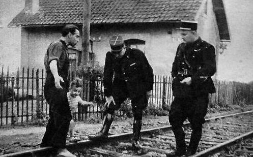 Marius Dewilde gedarme examine trace 1954