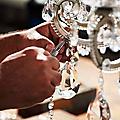 Comment nous fabriquons nos lustres à pampilles de cristal