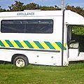 <b>Ambulance</b> de l'île de Sarq (île anglo normande)