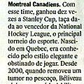 Décès de Jean Béliveau dans Veja, <b>revue</b> <b>brésilienne</b>