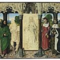 Christie's to feature rare 15th century masterpiece attributed to <b>Hugo</b> <b>van</b> <b>der</b> <b>Goes</b>
