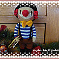 <b>Clown</b> au crochet