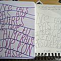 30 days of <b>journaling</b> : Thème 9