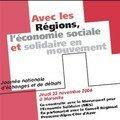 Intervention le 23 novembre au conseil régional paca sur le théme de
