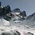 Randonnée à ski à la <b>Brêche</b> Robert Sud – Belledonne