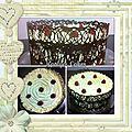 Buttercream cake & dentelle de chocolat