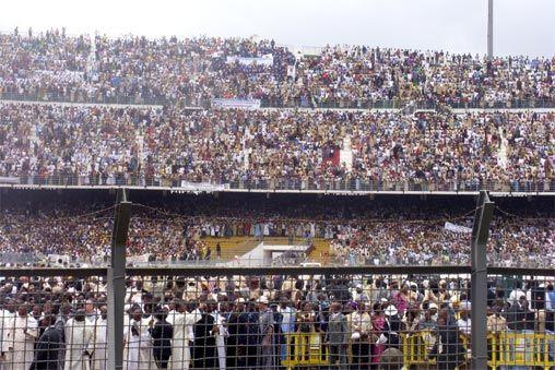 Le pape au Cameroun 2009