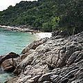 Malaisie 17 - perenthian islands # 3 : plage déserte...