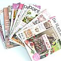 Des magazines point de croix
