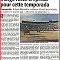 Béziers : arènes, empresa, commission taurine et aficion...