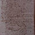 Buttié Joseph : Acte de déclaration de reconnaissance Canelle 09.4.1797