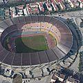 Le stadio san paolo, patrimoine de la ville de naples
