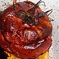 Tomates farcies poulet & basilic