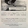 Atelier de «Mouvement dansé»