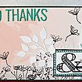 Des fleurs et de la douceur pour dire merci