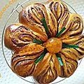 Brioche butternut chocolat noisettes ( façonnage n°20 )