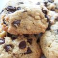 Les cookies truffés de pépites de chocolat