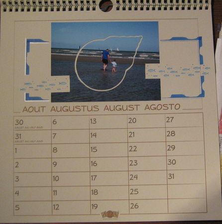 calendrier 08 - août