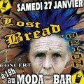 Affiche du concert rock Orion & The Lost Bread Samedi 27 janvier