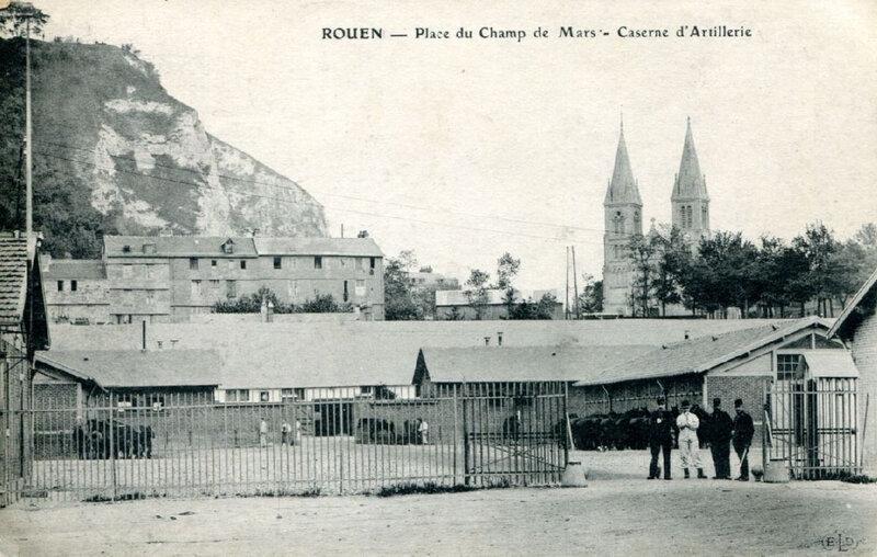 Rouen - Champ de Mars