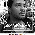 #concert #chanson jann halexander à l'archipel, 31 mai 2018, a vous dirais-je la derniere #paris