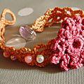 Bracelet crochet défi bijoux