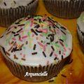 Muffins chocolat détail