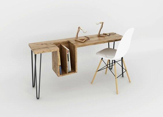 Bureau bois simple amazing scandinave simple en bois lampe de
