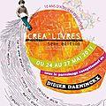 Affiche créa'livres 2011