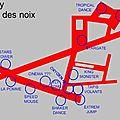 Plan de la vogue
