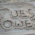 Dans le sable à Castellamare