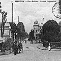 Place Rabelais et av le Corbeiller