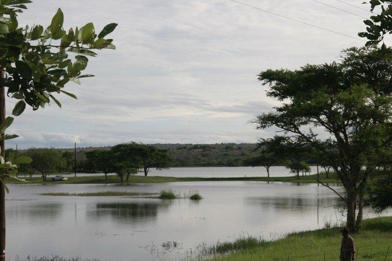 lac dans la region du Mpumalanga
