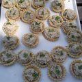 Mini tartelettes aux rillettes de sardines
