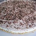 Cheesecake poire chocolat